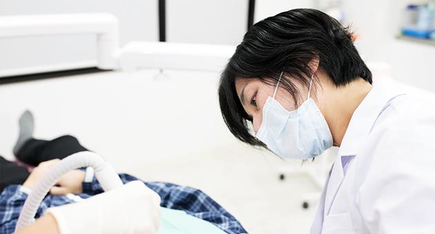 むし歯治療メイン白木先生